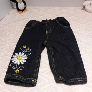 Young Hearts daisy jeans